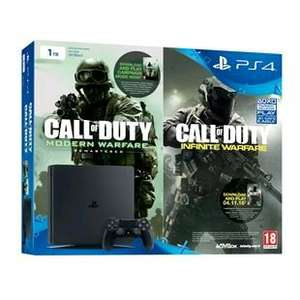 Ps4 Slim 1Tb bundle £299.99 @ Smyths [Call of Duty: Infinite Warfare and Call of Duty: Modern Warfare Remastered ]