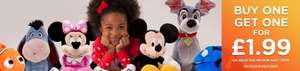 Selected Medium Soft Toys - Buy one get one for £1.99 @ Disney Store