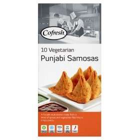 Cofresh Vegetarian Punjabi Samosas 10 pack £1.50 @ Asda
