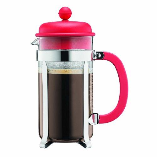 Bodum 8-Cup (1L) Cafetiere (Red) - £7.50 (Prime) £11.49 (Non-prime) @ Amazon