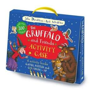 The Gruffalo and Friends Activity Case £4.00 - RRP £12.00 on PRIME