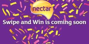 Sainsburys Swipe to Win with Nectar is back on the 14th October - 16th October
