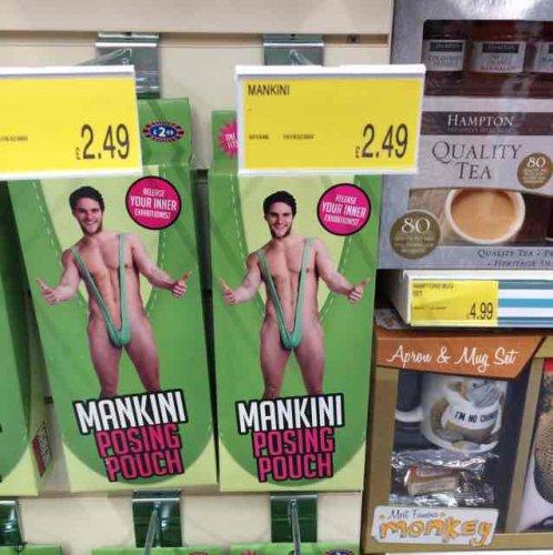 mankini b&m posing pouch £2.49