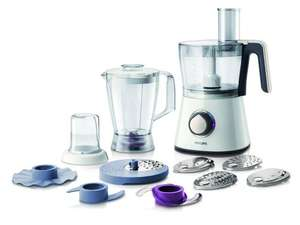 Philips HR7761/01 750 W 3 in 1 Kitchen Food Processor with 2.1 L Bowl and Accessories for + 28 Functions- 49.99(after £5 voucher automatically applied at checkout)+ £2 credit for No rush delivery for Prime now members- Amazon