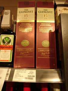 The Glenlivet 15 y.o. French Oak Reserve £23.99 Co-op
