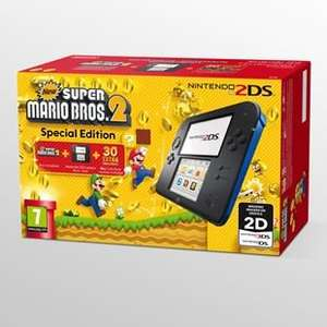 Nintendo 2DS preloaded with game, plus official case and any other game £95 @ Sainsburys