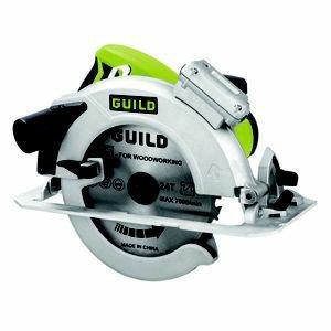 GUILD PSC185GH 1600W Electric Circular SawGUILD PSC185GH 1600W Electric Circular Saw £37.93 @ Homebase