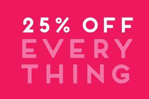 VIP Week - 25% Off EVERYTHING Online / Instore (by showing page) + Free C+C @ Dorothy Perkins