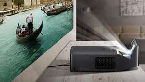 LG portable minibeam PF1000U ultra short throw Full HD (1920x1080) LED projector Amazon warehouse deal Used - Very Good £845 or £676 with 20% student discount