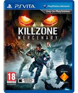 Killzone Mercenary PS Vita £13.99 @ Argos