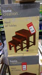 nest of tables £29.99 @ Aldi