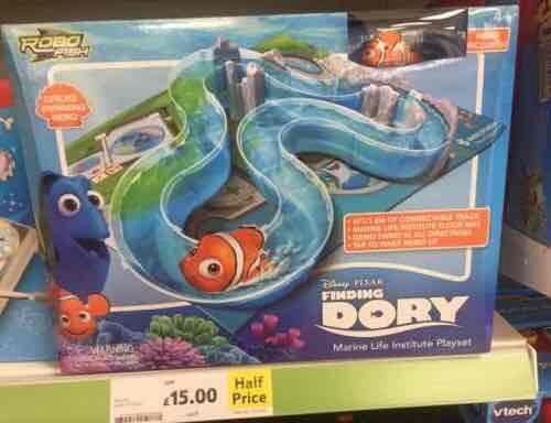 finding nemo / dory robot fish set £13 @ Tesco