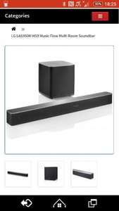 LGLA950M HS9 7.1 Soundbar + Woofer £449 delivered @ HiFiConfidential