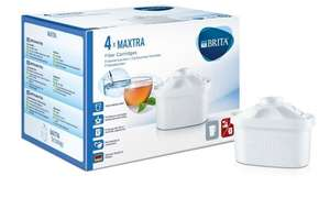 BRITA MAXTRA Water Filter Cartridges - Pack of 4 - Amazon - 50% off  £10 + Delivery at no extra cost for Prime members or FREE Delivery in the UK on orders over £20