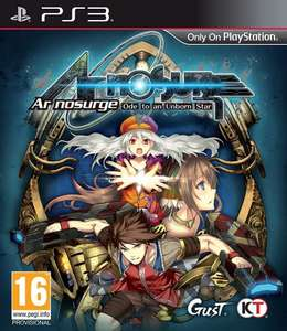 [PS3] Ar Nosurge: Ode to an Unborn Star - £6.99 (Prime) / £8.98 (Non Prime) - Amazon