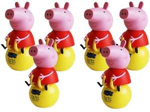 6 Pack Peppa Pig bubble bath and money bank (£4.99) - plus 3 for 2 at Ebay/3monkeys