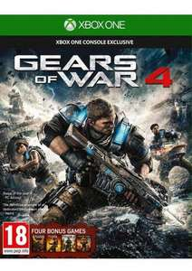Gears of war 4 ( xbox one) plus previous games £38.85 @ simply games