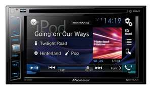 Pioneer Double Din 6.2-Inch Head Unit (AVH-X2800BT) Touchscreen Multimedia Player  £179.99 @ Amazon