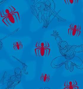 MARVEL COMICS SPIDER-MAN LOGO WALLPAPER (52CM X 10M) £5.99 a roll (Various Delivery options, free if spend is over £40) @ TruffleShuffle