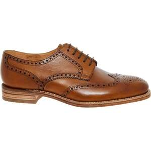 LOAKE Grain Leather 'Dawlish' Derby Brogues Sizes 9/10/11 £79.99 delivered @ TK Maxx