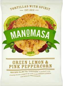 Manomasa Chipotle and Lime Tortilla Chips was £1.99 now 99p @ Tesco