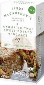 Linda McCartney Thai Vegetable Cakes (280g) was £2.00 now £1.50 @ Tesco