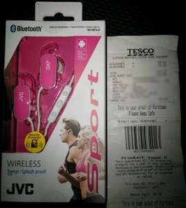 JVC Bluetooth Headphones Wild Goose Chase £8 at Tesco Maryhill Glasgow! (£47 everywhere else!)