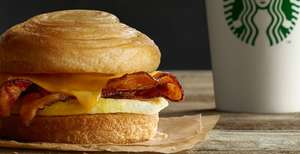 Any Breakfast Item and a Grande Latte for £4 Exclusive to My Starbucks Rewards Members at Starbucks Coffee