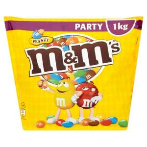 Peanut m&ms 1kg bags. 90p at poundland!!