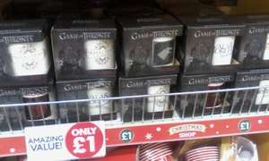 game of thrones mug's £1 at poundworld