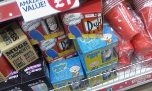 The simpsons and family guy and other assorted mugs £1 @ poundworld