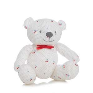 Upto 70% Off Toys inc Baby + FREE Delivery with code in Debenham's Blue Cross Evernt (ie J by Jasper Conran Baby girls' white cherry print teddy bear was £12 now £4.80)