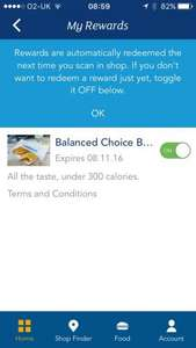 Greggs app free balanced choice bake