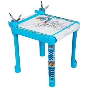 Paw Patrol Colouring Table £9.99 C+C @ Toys R Us (Paw Patrol 52 Piece Art Set half price at £4.99)