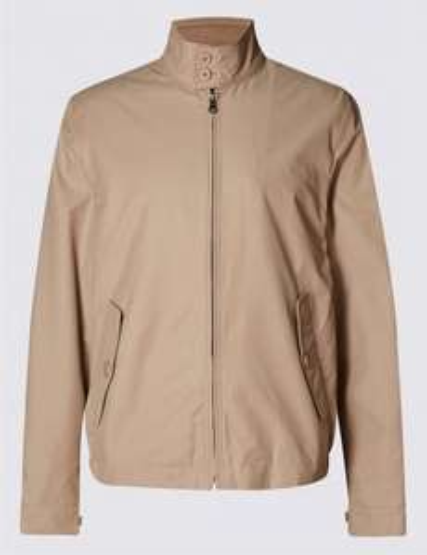 Cotton Rich Harrington with Stormwear™ £26 @ M&S  [free C&C]