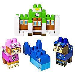Paw Patrol Ionix Adventure Bay Block Set Half Price now £12.50 C+C @ Tesco Direct
