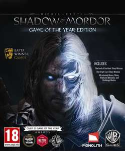 Middle Earth Shadow Of Mordor GOTY Edition Steam CD Key - £3.06 @ scdkey