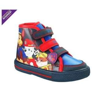 Paw Patrol Toddler Hi Top Shoes sizes 5 - 9 now £7.79 C+C @ Argos