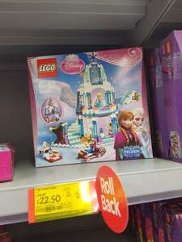 Disney Frozen Castle Lego  - £22.50 instore @ ASDA (Milton Keynes)