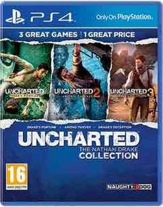 uncharted nathan drake collection £17.99 preowned  @ GAME