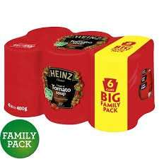 6 pack Heinz Tomato Soup for £1.99 in FarmFoods