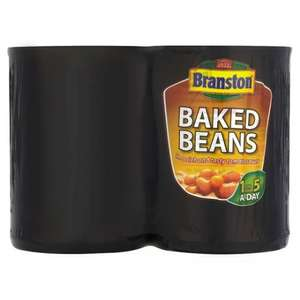 Branston Baked Beans (4 x 410g) Save 75p Was £2.00 Now £1.25 @ Tesco