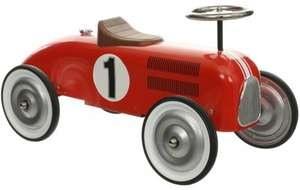 Halfords Retro Racing Car Ride On Car Was £79 now £39