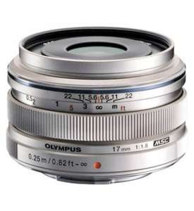 olympus 17mm f1. 8   M.ZUIKO Standard Lens £257.50 delivered @ Boots