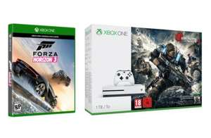 Xbox One S 1TB Console with Gears of War Bundle & Forza Horizon 3 £319.99 - Argos