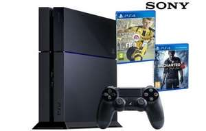 Sony PS4, 500GB - FIFA 17 and Uncharted 4 £269.95 / £277.90 delivered @ IBOOD