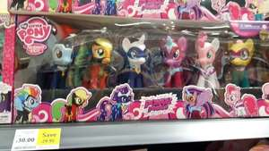 My Little Pony Power Pony Collection 6 Pack £29.99 @ Tesco Extra - Robrough in Plymouth