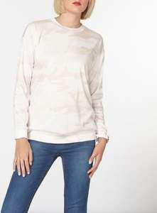 Pink Camouflage Sweatshirt By Dorothy Perkins for £3.75 at Debenhams