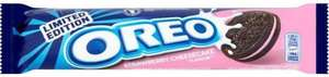 Oreo Cookies - Limited Edition Strawberry Cheesecake (154g) was £1.04 now 50p @ Morrisons