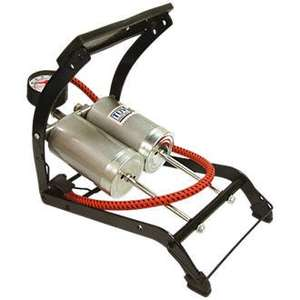 Double Cylinder Foot Pump £5.99 at Screwfix free click and collect
